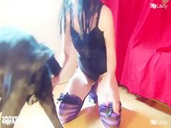 47 bonnie's first dog sex