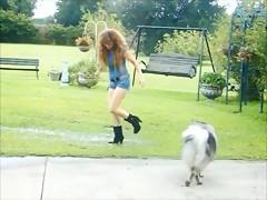 Horse fucking Woman