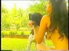 Finally a good dog cock suck video