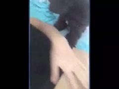 doggy tastes hairy pussy