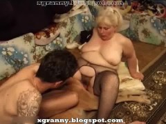 Dog sex with fat granny